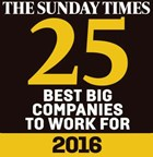 Sunday Times Best Company 2016