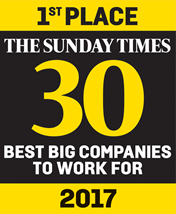 Sunday Times Best Company 2017