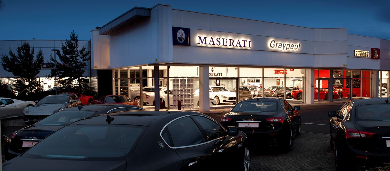 Careers at Graypaul Maserati Edinburgh