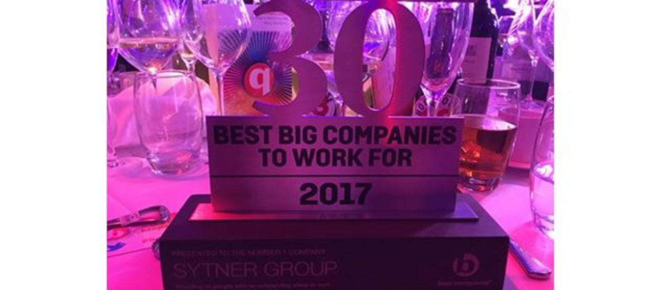 Sunday Times Best Company Award